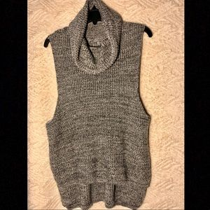 Charlotte Russe Hi-Low Sleeveless Sweater